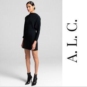 ALC long sleeve mini dress
